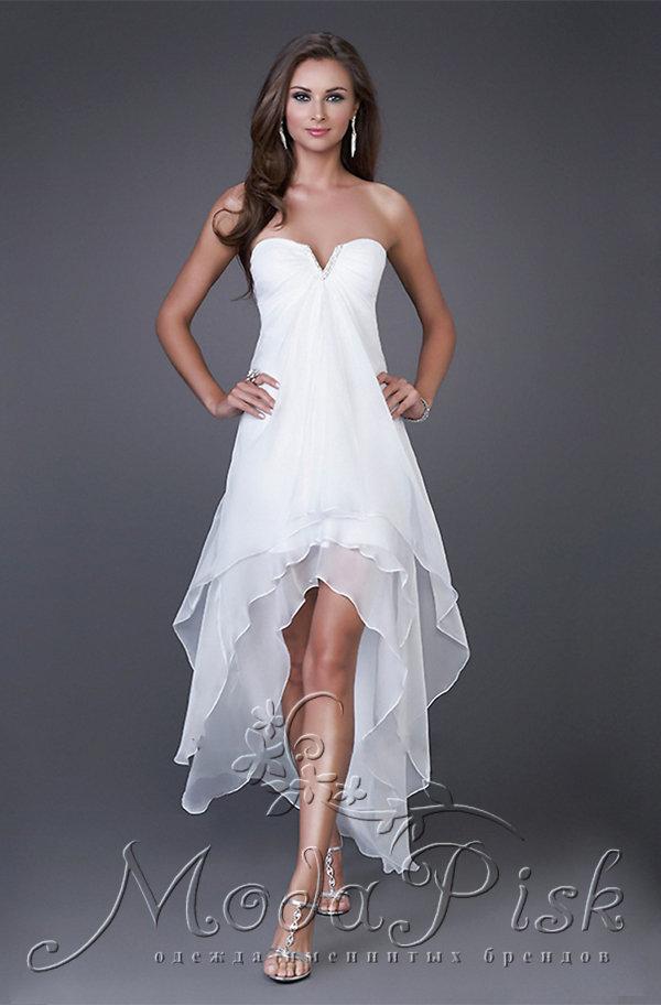 b38eef6dc3a Не дорого короткое платье со шлейфом