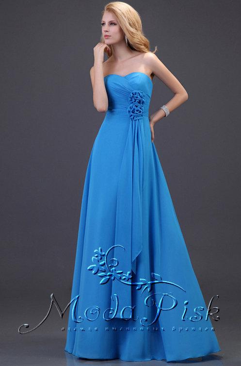 2773092c3784 Шикарное голубое платье на выпускной Интернет-магазин Modapisk.ru