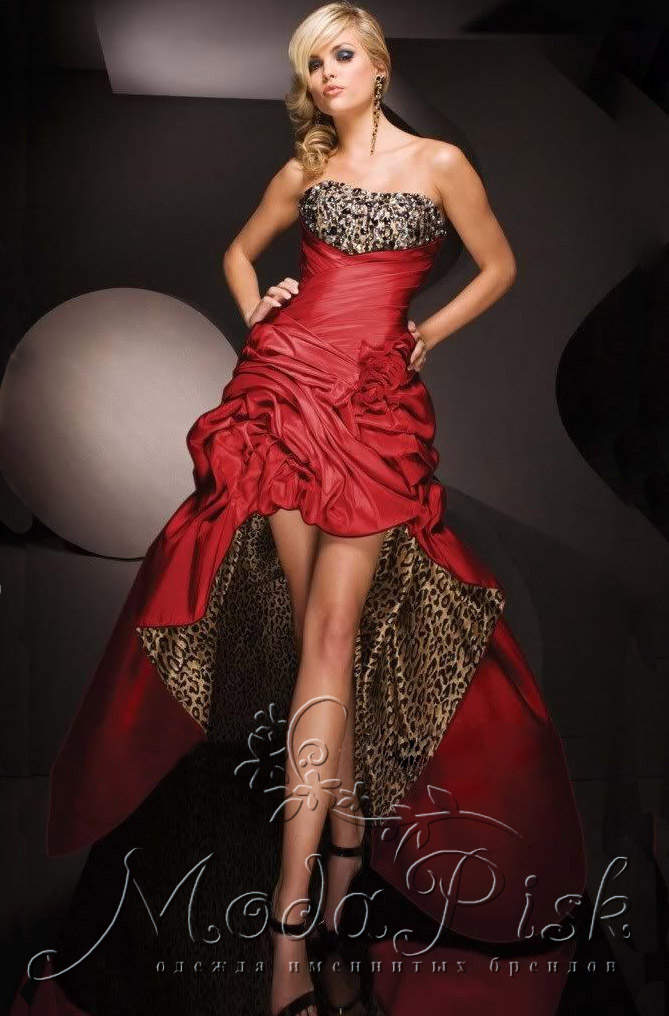 43e096e1548 Красное не дорогое платье со шлейфом